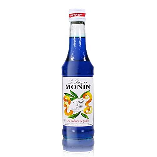Le Sirop de Monin Curaçao Blau Sirup...