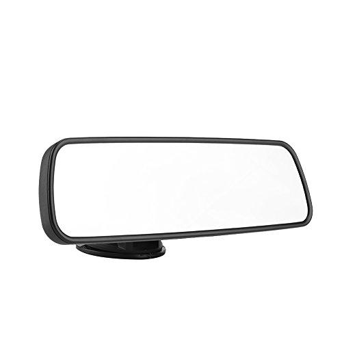 KIMISS 24,8 * 7 cm Auto Universal Innenspiegel Frontscheibe Rückspiegel mit Saugnapfhalterung Beifahrer Rückspiegel