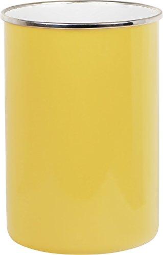 Reston Lloyd 82201 Calypso Basics by Enamel on Steel Utensil Holder Lemon Standard