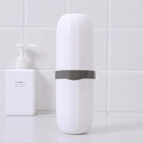 Heng beknopt wassen gorgelen Cup liefhebbers tanden poetsen glas originaliteit Korea pak reizen tandenborstel vak draagbare, sneeuw wit