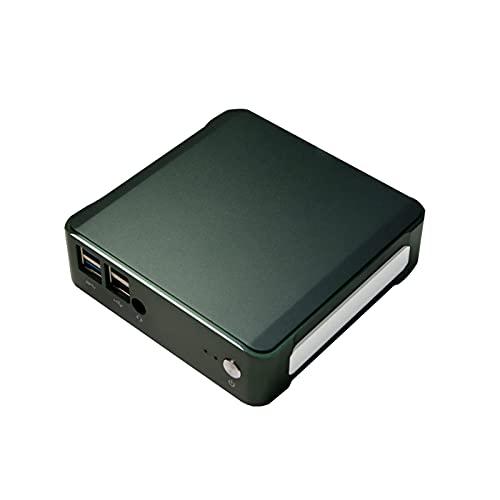 "KUU Mini PC Mingar 1, Intel Core i3-8145U Ordenadores de sobremesa 8 Go DDR4 RAM 256 Go SSD, Windows 10 Pro, Dual WiFi 2.4/5G, BT 4.2, 2.5"" SATA SSD/HDD, RJ45, HDMI, 8th Generation UHD Intel GPU"
