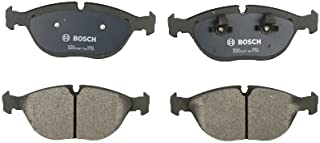 Bosch BP682 QuietCast Premium Semi-Metallic Disc Brake Pad Set For Select Audi TT; Bentley Arnage, Continental; BMW 750iL, Z8; Chrysler; Mercedes-Benz C, AMG, CLK, E, S, SLK; Volkswagen + More; Front