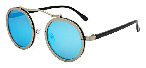 J&L Glasses Retro Gafas Para Hombres Mujeres Lente Negro Gafas, Gafas de...