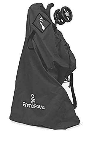 Primo Passi - Stroller Travel Bag   Stroller Airport Gate Check Bag   Protection (Black)