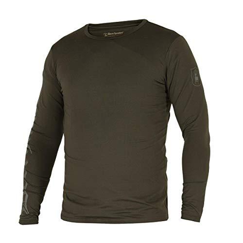 Deerhunter Greystone T-Shirt L/S 393-Timber