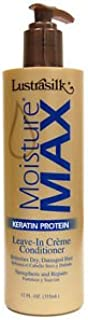 Lustrasilk Moisture Max Keratin Protein Leave-In Creme Conditioner 12oz/355ml