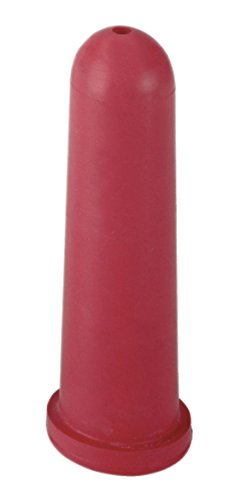 Cajou 10 Stück Sauger für Kälber Kälbersauger für Tränkeeimer Kälbertränkeeimer (Kreuzloch 100 mm rot)