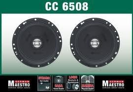 GermanMaestro CC 6508 Enceintes 2 Voies Coaxial (Inst. vers.) 2 Ohms ext. Doux 6,5/16 cm