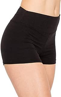 ALWAYS Women Workout Yoga Shorts - Premium Buttery Soft Solid Stretch Cheerleader Running Dance Volleyball Short Pants