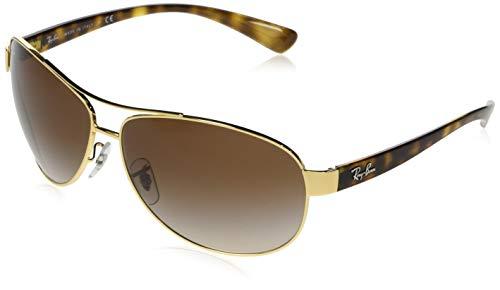 Ray-Ban Rb3386 gafas de sol, Arista, 67 para Hombre