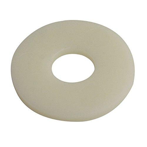 SC-Normteile | 100 Stück Große Polyamidscheiben (Untgerlegscheiben) | M5 (5,3) | DIN 9021 | Polyamid PA/Kunststoff | SC9021