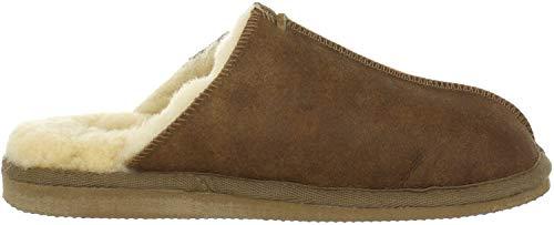 Shepherd Herren HUGO SLIPPER Pantoffeln, Braun (Antique Cognac 52), 44