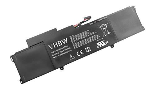 vhbw Batterie 4600mAh pour Notebook Dell Studio XPS 14, 14 L421X Ultrabook, XPS 14 Ultrabook, XPS 14-L421x, XPS L421x, XPS14-2818 comme 4RXFK, C1JKH.