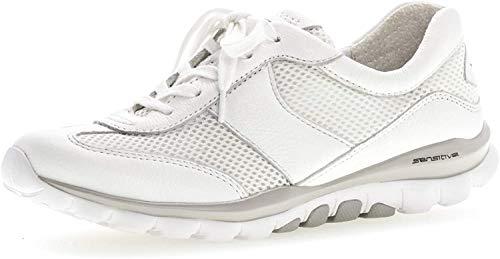 Gabor Damen Sneaker, Frauen Low-Top Sneaker,Optifit- Wechselfußbett, weibliche...