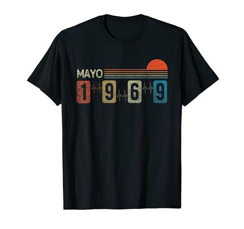 Mayo 1969 Vintage - 52 años Regalo Cumpleaños Hombre Camiseta