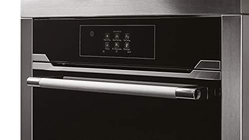 Hoover HBC450SV Vogue Premium Refroidisseur soufflé en verre et acier inoxydable Noir 45 cm