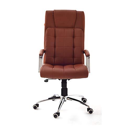 Da URBAN® Richmond High-Back Executive Office Chair Leather Computer Desk Chair with Armrest, Swivel Ergonomic Task Chair