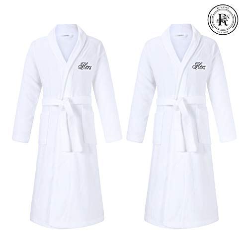 Hers & Hers Lesbian Gifts | Set of 2 Hers and Hers Robes | Perfect for Lesbian Wedding Engagement