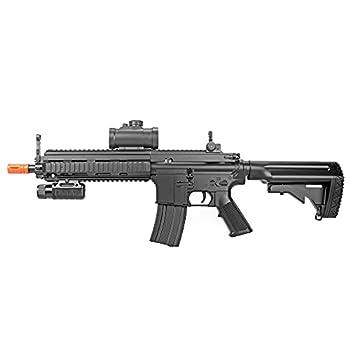 BBTac Airsoft Rifle M804 Full & Semi Auto Electric Gun AEG Shoots 6mm BBS