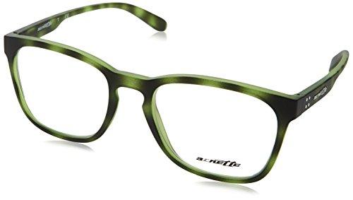 Arnette Lipslides Monturas de gafas, Matte Green Havana, 53 para Hombre
