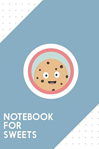 Notebook for Sweets: Dotted Journal with chocolate cookie with red circle Design - Cool Gift for a friend or family who loves snack presents! | 6x9' | ... College, Tracking, Journaling or as a Diary