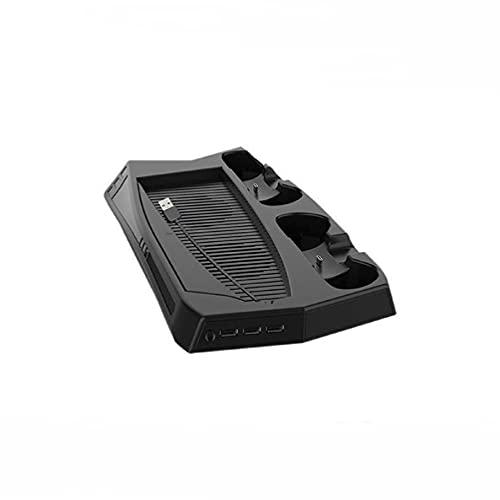 Incdnn Soporte vertical para ventilador de PS5 para PlayStation 5 Digital Edition con 3 puertos de puerto dual, estación de carga