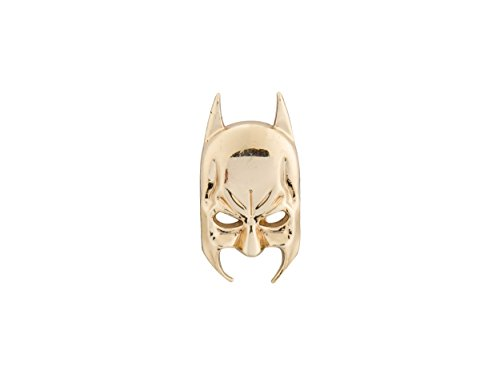 Knighthood Herren Superhelden Maske Revers Pin Gold Herren Brosche/Reversnadel/Lapel Pin/Anzug/Sakko