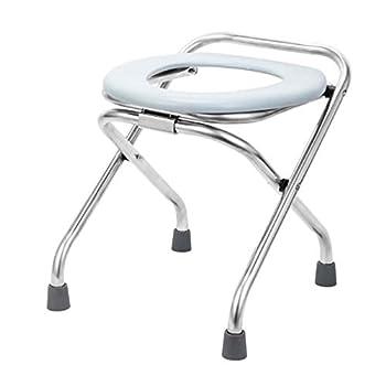 fllyingu Chaise De Toilette De Camping Portable, WC Camping Car Toilette Seche, Toilette Pliable avec Siège De Toilette