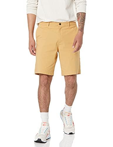 Amazon Essentials Men s Standard Regular-Fit Lightweight Stretch 9  Short, Wheat, 38