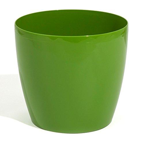Prosper Plast Verde Taglia 3X L Coubi Rotondo fioriera Pot, 30Litri, 7Colori