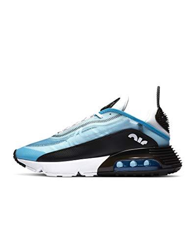 Nike Herren AIR MAX 2090 Laufschuh, Laser Blue White Black Vast Grey, 46 EU
