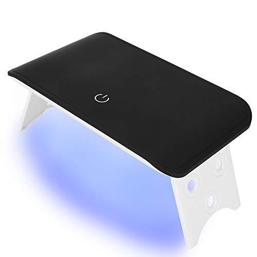 Essiccatore per smalto per unghie con gel a doppia sorgente UV/LED, lampada per unghie portatile pieghevole Asciugatrice per smalto per unghie in gel USB Macchina per nail art