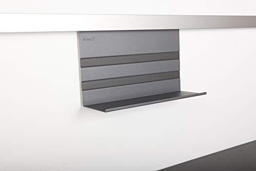 SO-TECH® Linero MosaiQ Universalablage 200 Graphitschwarz