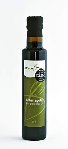 Kürbiskernöl 250 ml – 100% rein und natürlich – 3-Sterne-Gewinner des Great Taste Award