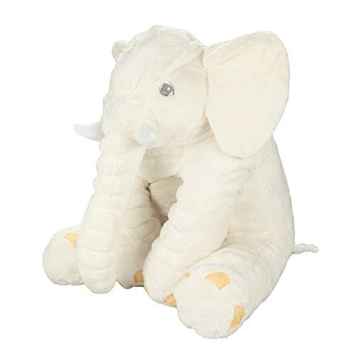 Elefant Plüsch Cuddle Toys Stofftier Plüschtier Kuscheltier 60 cm Lang Figur für Baby Jungen Mädchen Kinder