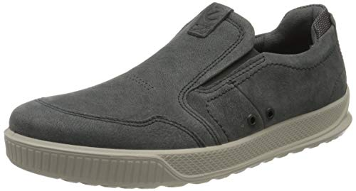 Ecco Herren BYWAY Slip On Sneaker, Blau (Dark Shadow 2602), 43 EU