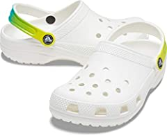 Crocs for everyone: With a color and style for every personality, the Classic Clogs are the Crocs women and men need to start a comfort revolution around the world Lightweight and fun: The Crocs for men and women feature lightweight Iconic Crocs Comf...