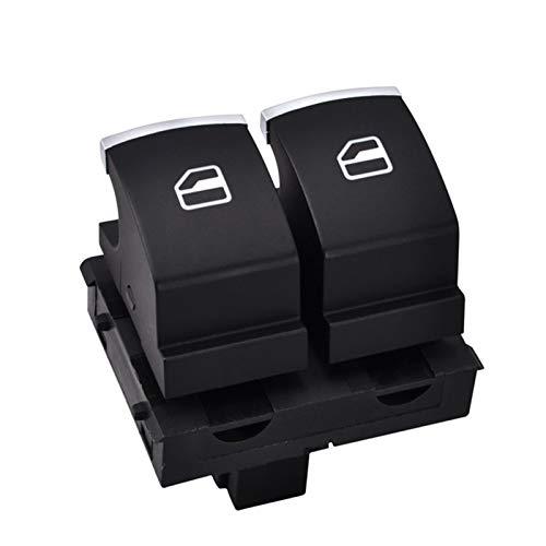 Elevalunas Interruptor Botón de interruptor de control de ventana para VW EOS Golf Mk5 MK6 GTI 2 Puertas Scirocco Tiguan Polo 5K3 959 857 / 5k3 959 857 A B Interruptor Elevalunas