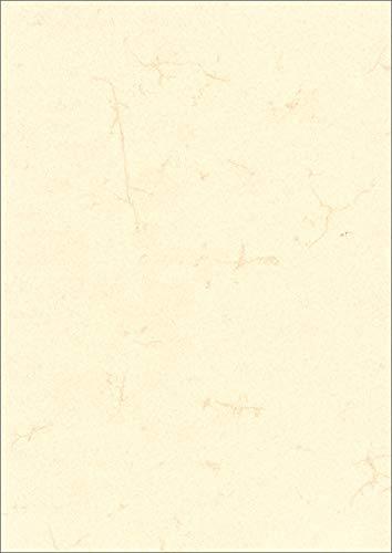 RNK 2860 - Dokumentenpapier, DIN A4 Elefantenhautpapier, 1 Packung mit 100 Blatt, 190g/m², weiß, 1 Stück