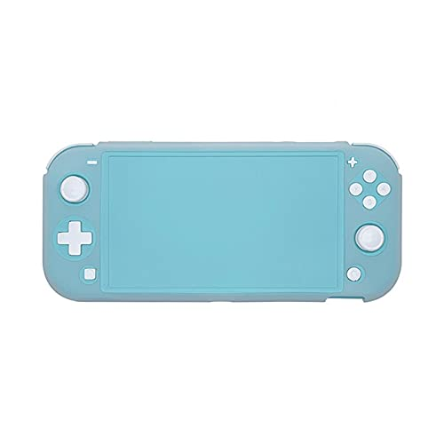 Emoshayoga Funda Protectora Funda de Silicona con Todo Incluido para la Consola de Juegos Switch Lite(Transparent White)