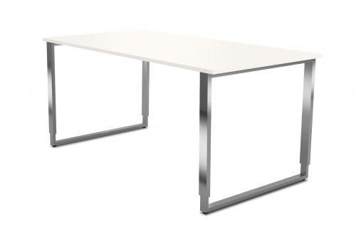 Kerkmann Schreibtisch Aveto K-Fuß BxTxH 1600x800x750mm weiß