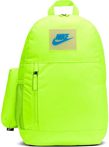 NIKE Elemental Kids' Graphic Backpack Mochila, Unisex niños, Volt/Volt/Laser Blue, Talla única