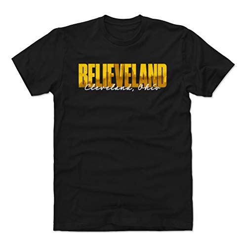Cleveland Shirt (Cotton, XX-Large, Black) - Cleveland Ohio Believeland WHT