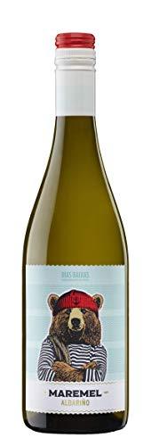 Botella de Vino Blanco Maremel Albariño Semidulce Rias Baixas 2019