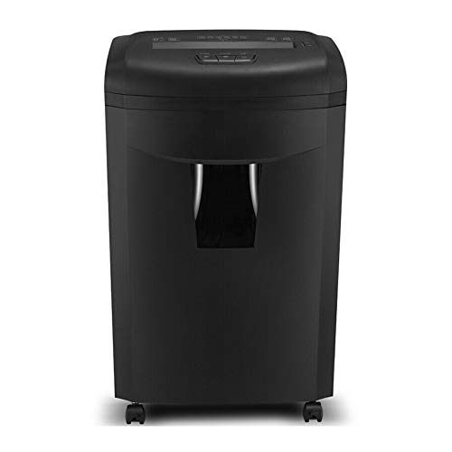 Amazing Deal Paper shredders for home use Credit card shredder Shredders for office Cross-Cut heavy duty paper shredder Smash CD Silent heavy shredder 150 minutes / 17 sheets / 30L
