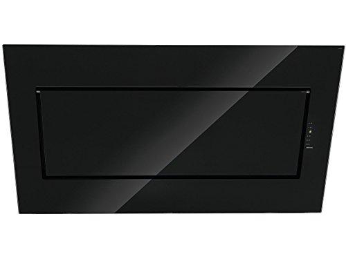 falmec Quasar 80cm montiert Wand schwarz 800m³/h–Hauben (800m³/h, führt/Rückgewinnung, montiert Wand, Schwarz, 3Leuchtmittel (S), Halogen)