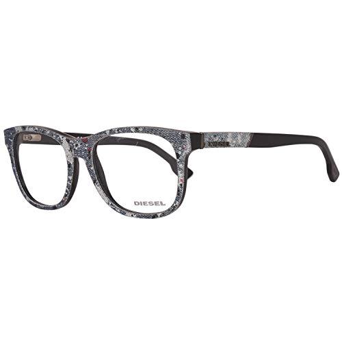 Diesel Brillengestelle DL5124 52005 Rund Brillengestelle 52, Mehrfarbig