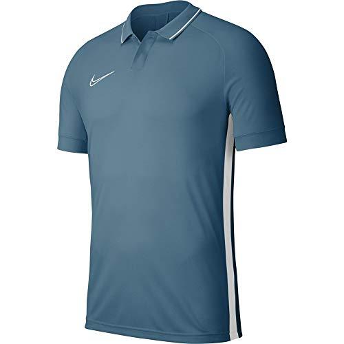 Nike Kinder Dri-FIT Academy 19 Polo Shirt, Marina/Marina/White/White, M