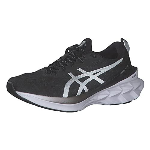 ASICS NOVABLAST 2, Zapatillas de Running Mujer, Black Pure Silver, 37.5 EU