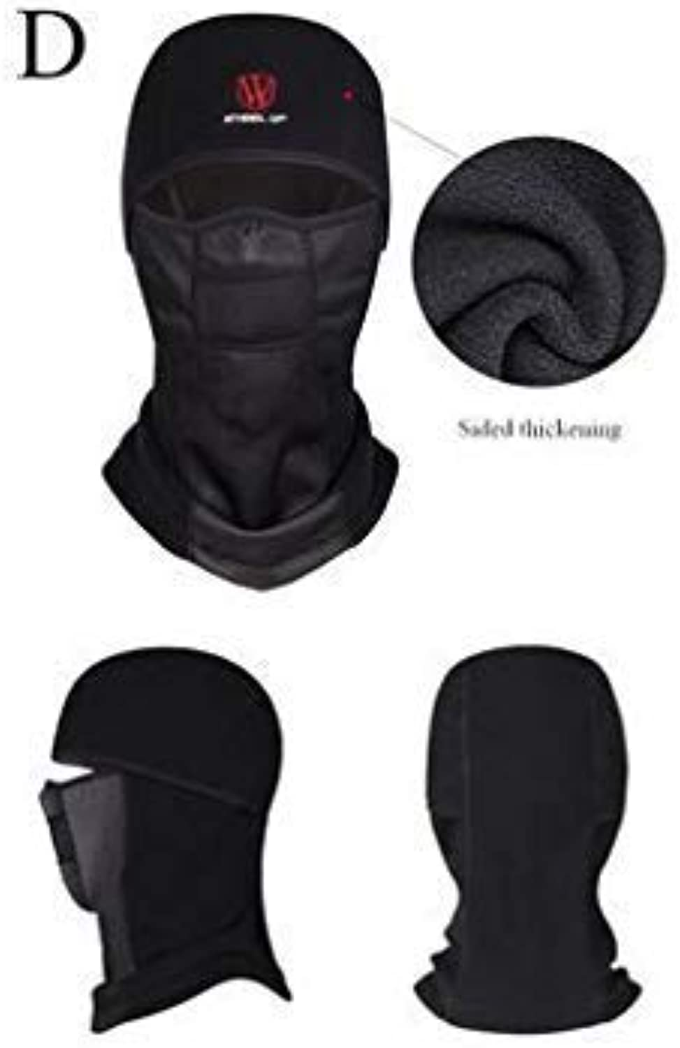 Winter Warm Ski Motorcycly Cycling Face Mask Helmet Cap Windproof Fleece Balaclava Hat
